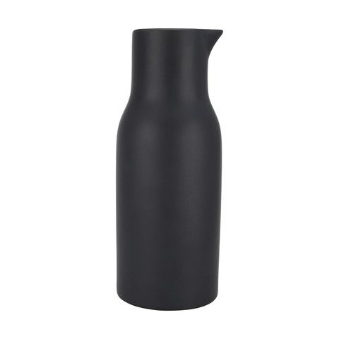 Matte Finish Jug - Black