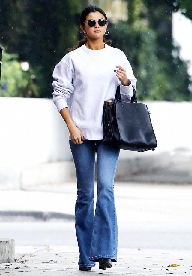 Selena Gomez Flare Jeans