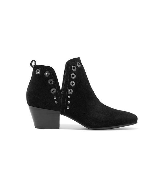 Sam Edelman Rubin Embellished Suede Ankle Boots