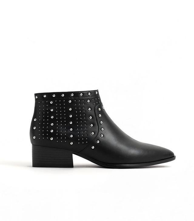 Mango Stud Ankle Boots