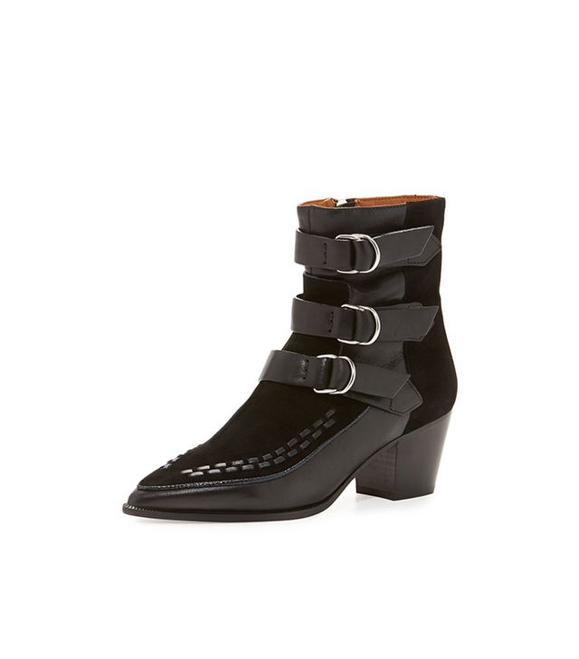 Isabel Marant Dickey Suede & Leather Boots