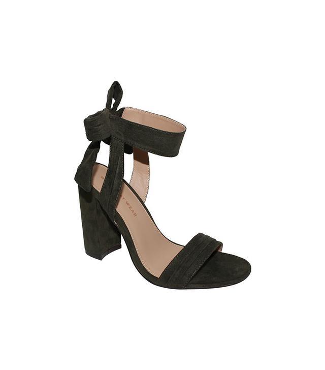 Who What Wear for Target Michaela Block Heel Quarter Strap Sandals