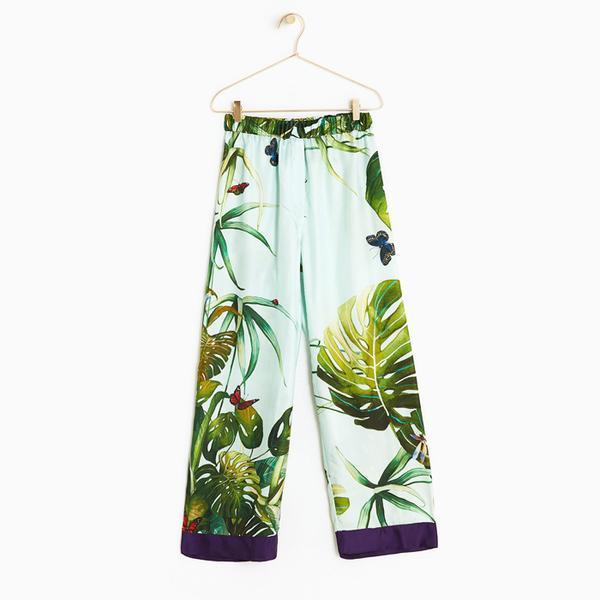 Zara Home Jacquard Trousers