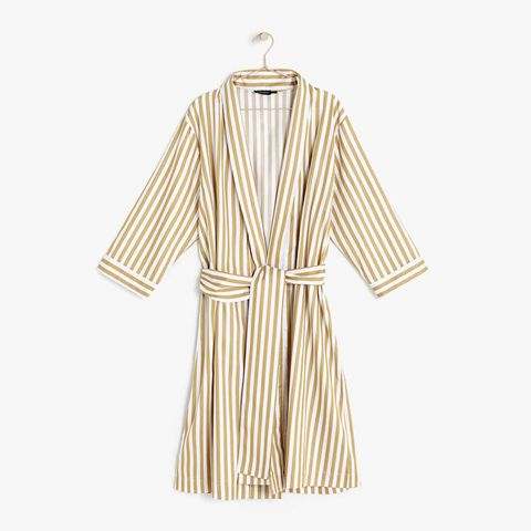 Striped Housecoat