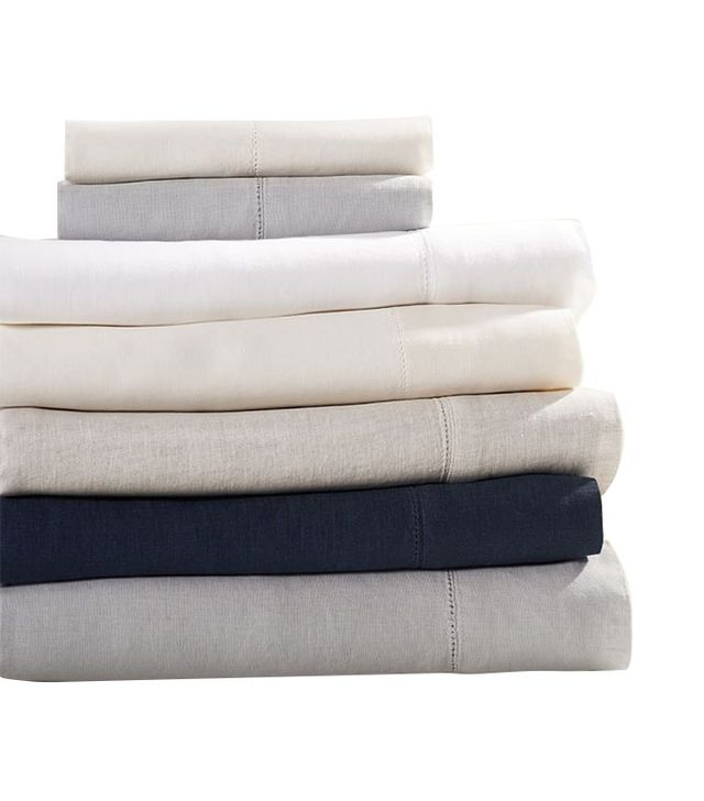 Pottery Barn Belgian Flax Linen Sheet set