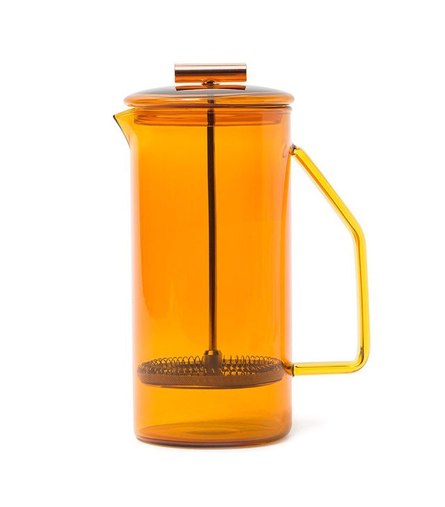 Yield Design Glass French Press in Amber