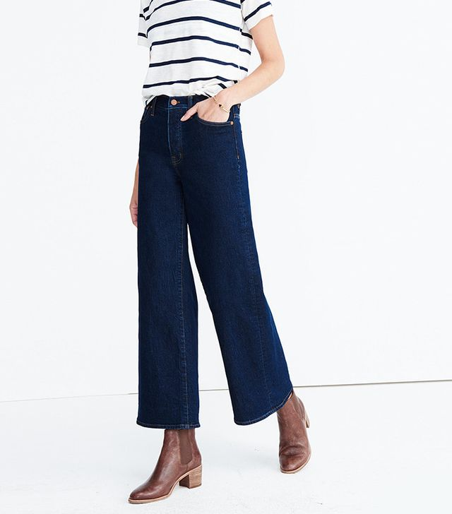 Madewell wide-leg jeans