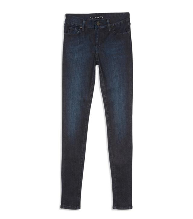 Mott & Bow High Rise Skinny Jeans in Jane
