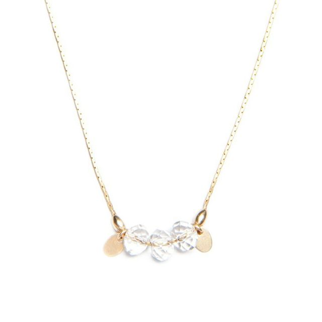 Petite Grand Crystal Drop Necklace