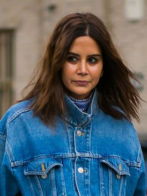 How to Wear Double Denim in 2017, the Christine Centenera Way