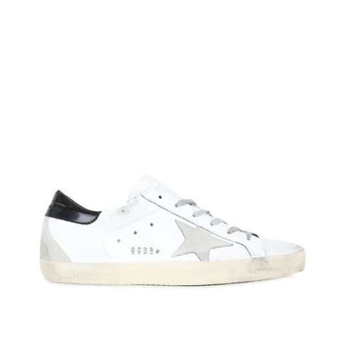 "Sneakers ""Super Star"" De Piel 20mm"