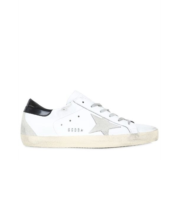 """Golden Goose Deluxe Brand Sneakers """"Super Star"""" De Piel 20mm"""