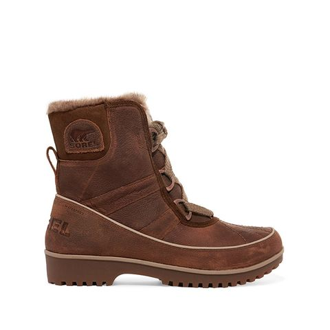 Tivoli II Premium Waterproof Textured Leather Boots