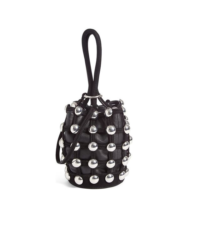 Alexander Wang Mini Roxy Studded Bucket Bag