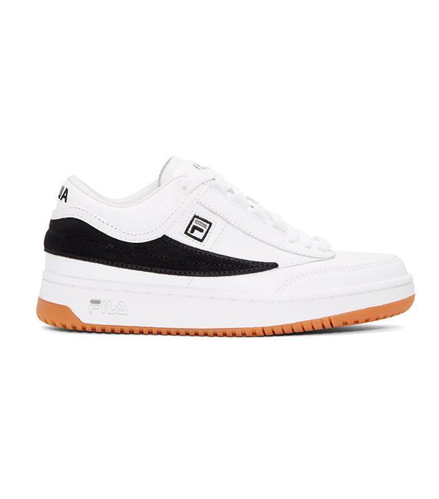 Fila x Gosha Rubchinskiy White & Black Fila Edition T-1 Mid-Top Sneakers