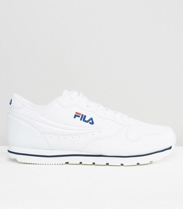 Fila Orbit Low Sneakers in White