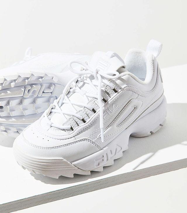 fila shoes all white. fila disruptor ii sneakers fila shoes all white