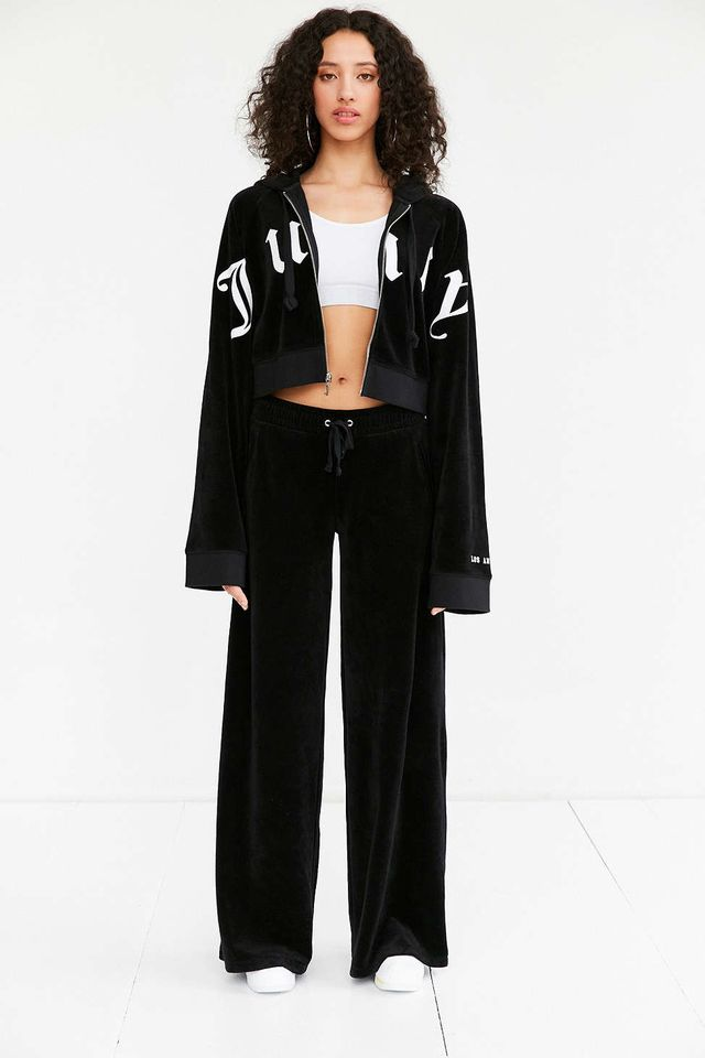 Juicy Couture for UO Cropped Zip Hoodie Jacket