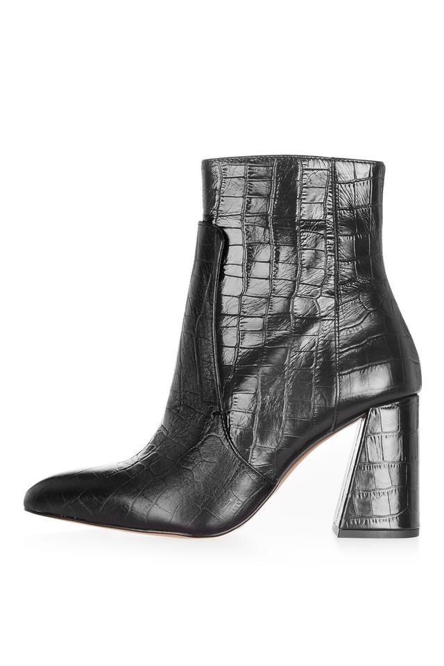 Topshop Hawk Croc Boots
