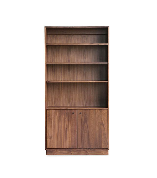 Hedge House Furniture Handcrafted Walnut Bookshelf