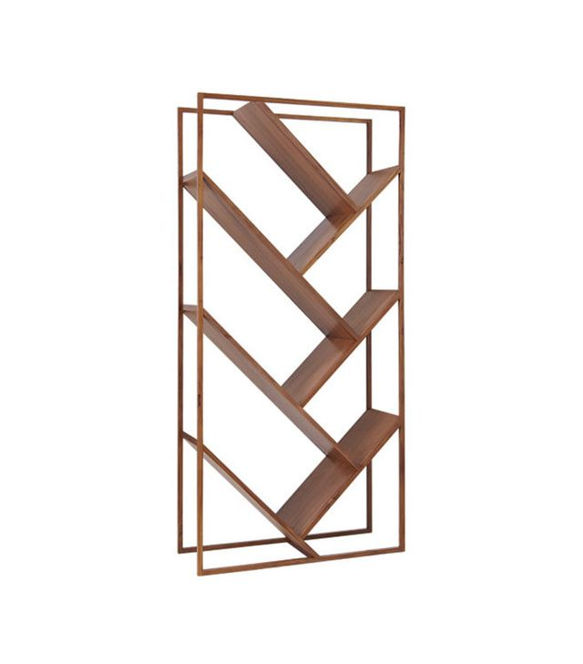 CB2 V Bookcase-Room Divider