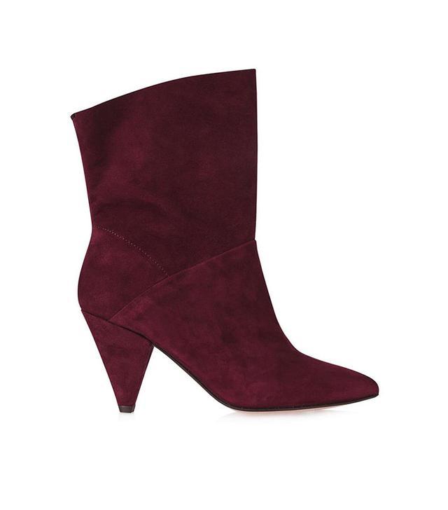 Topshop Mickey Cone Heel Boots