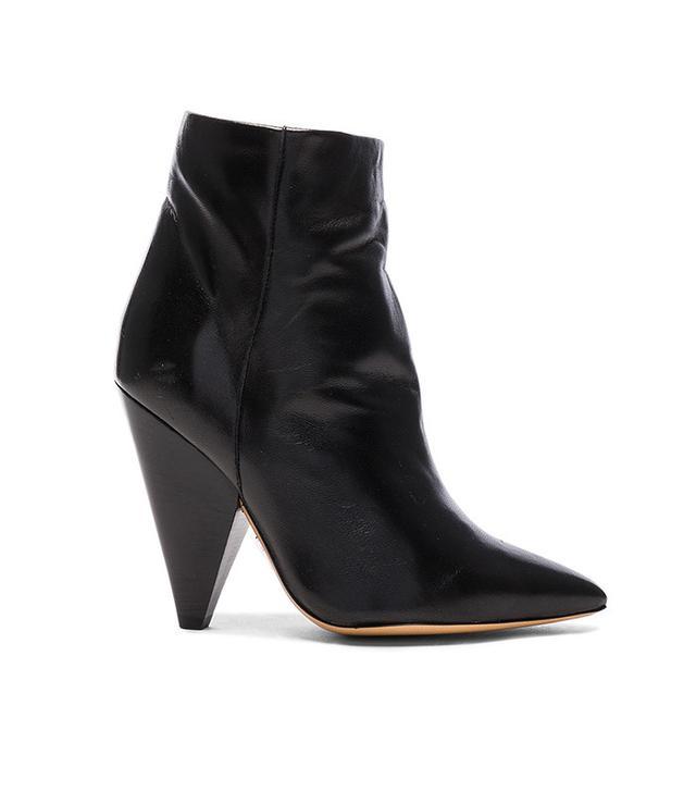 Isabel Marant Leather Leydoni Booties