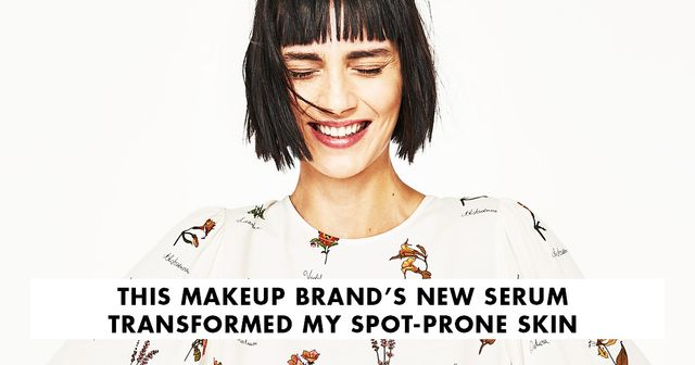 This Makeup Brand's New Serum Transformed My Spot-Prone Skin
