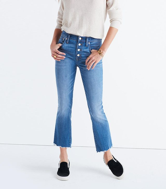 Madewell Cali Demi-Boot Jeans: Chewed-Hem Edition