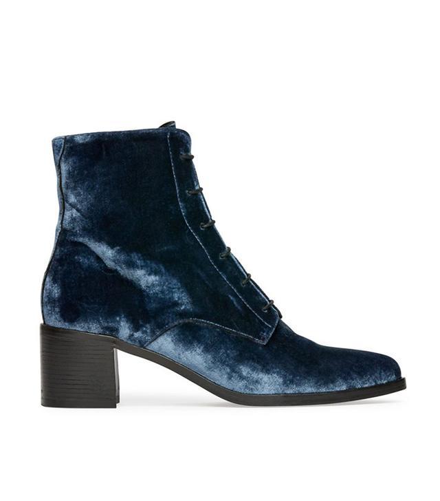 Frēda Salvador Ace Lace Up Mid Heel Boot