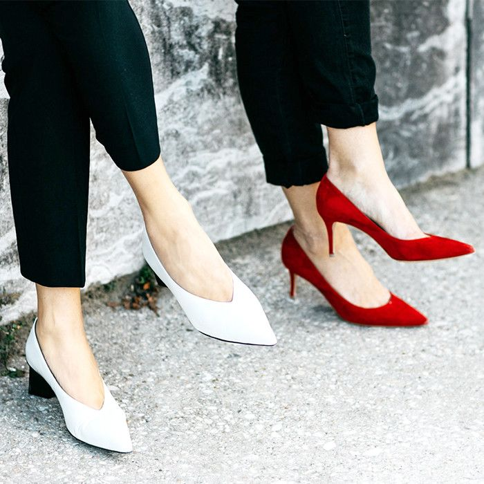 High heel street style