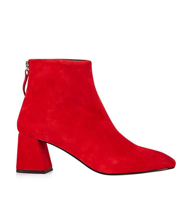 Topshop Maggie Flared High Boots