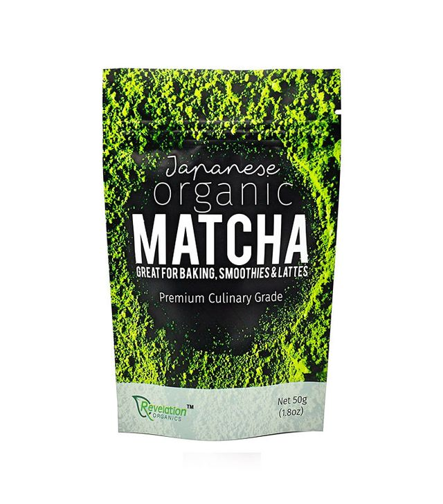 Revelation Organics Premium Japanese Organic Matcha Green Tea Powder 50g