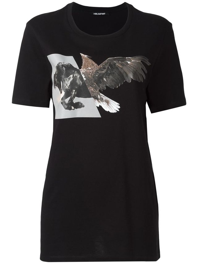 Neil Barrett Horse Eagle T-Shirt