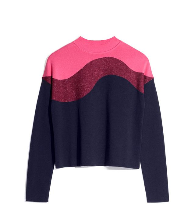 & Other Stories Colour Block Knit