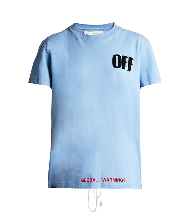 Off-White Round-Neck T-Shirt