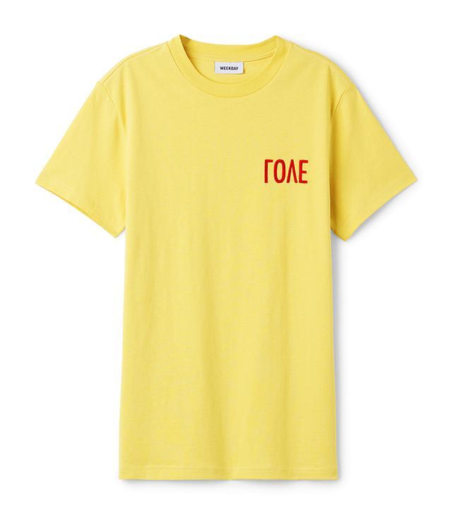 Weekday Alan Love T-Shirt