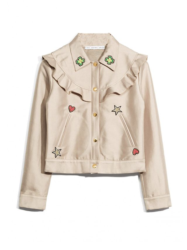 & Other Stories Patched Frill Jacket