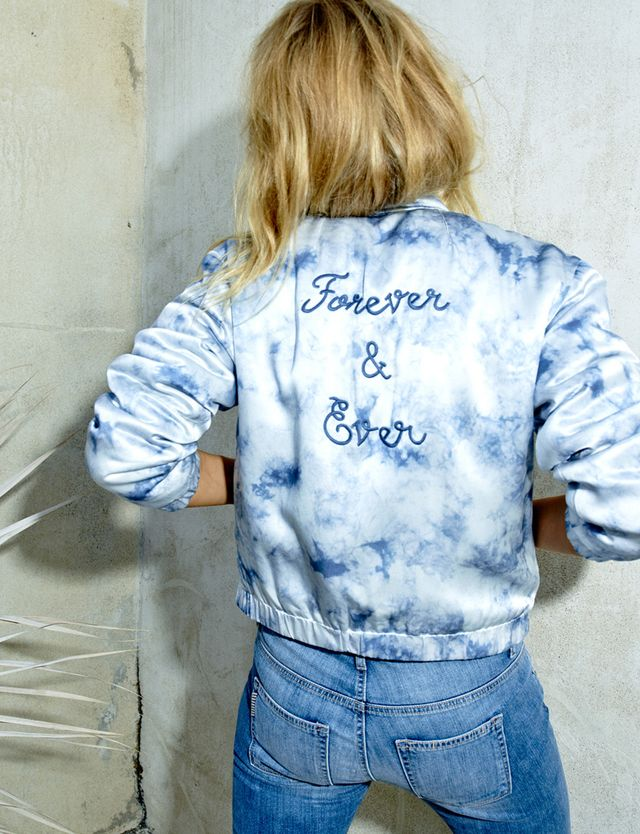 Rosie HW x Paige Collection Flo Bomber Jacket
