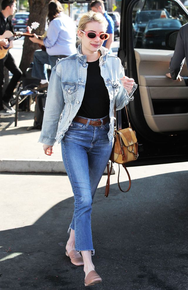 Emma Roberts ELizabeth and James McKinley Sunglasses