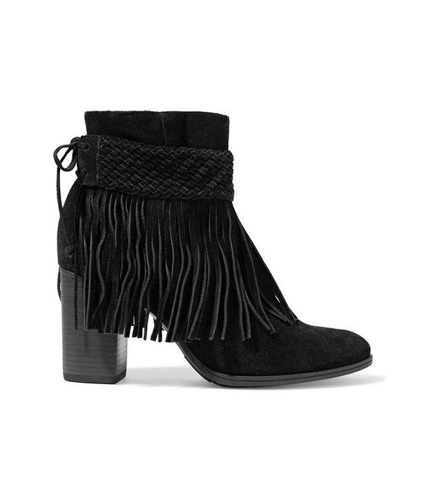 Schutz Fringed Ankle Boots