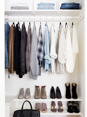 How to Fit 100 Things in a Tiny Closet (and Stay Organised)