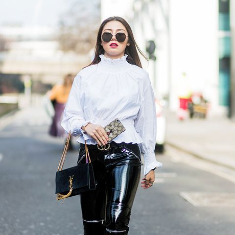 London fashion week February 2017 street style