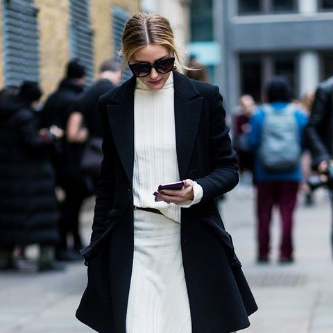 London fashion week February 2017 street style: Olivia Palermo