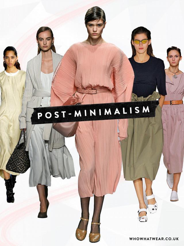 Minimalist fashion: Post-minimalism looks