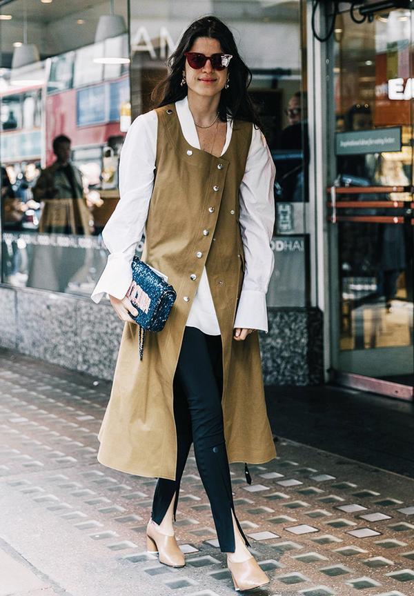 Minimalist fashion: interesting lengths and necklines