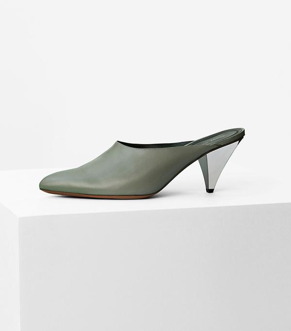 Minimalist fashion: Celine Blade Heel Mule