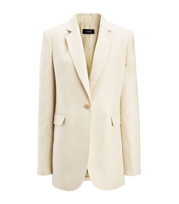Minimalist fashion: Joseph Linen Twill Laurent Jacket