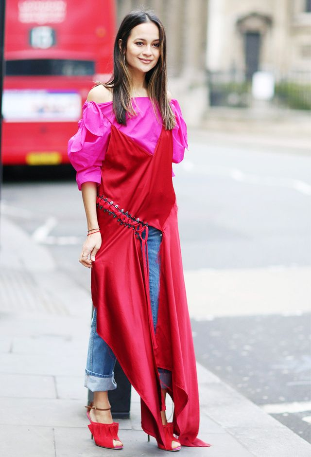 Pink and red trend:
