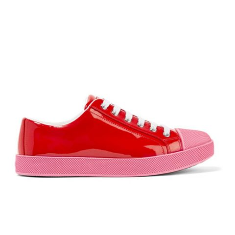 Patent-Leather Sneakers